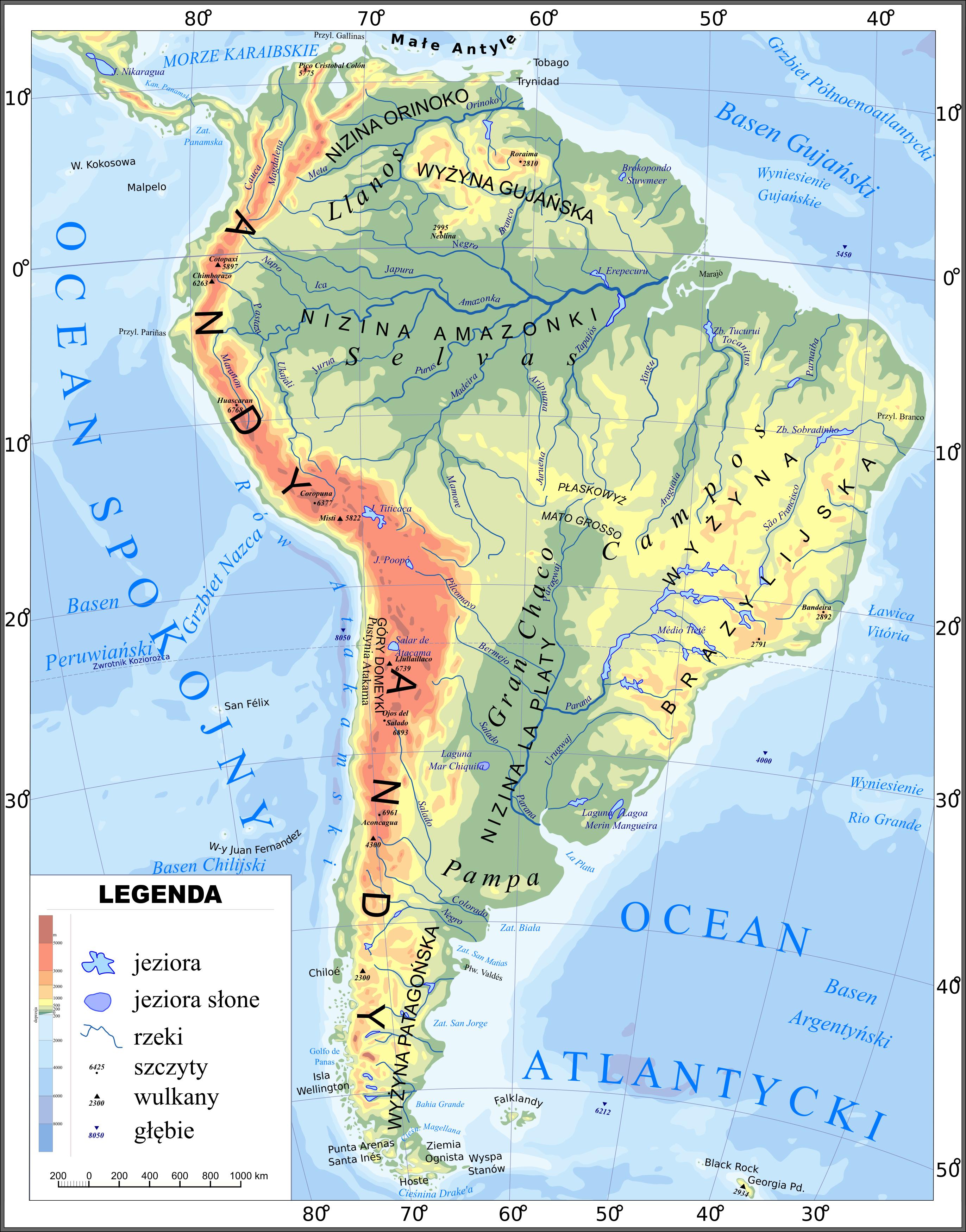 Ameryka Poludniowa Wikipedia Wolna Encyklopedia