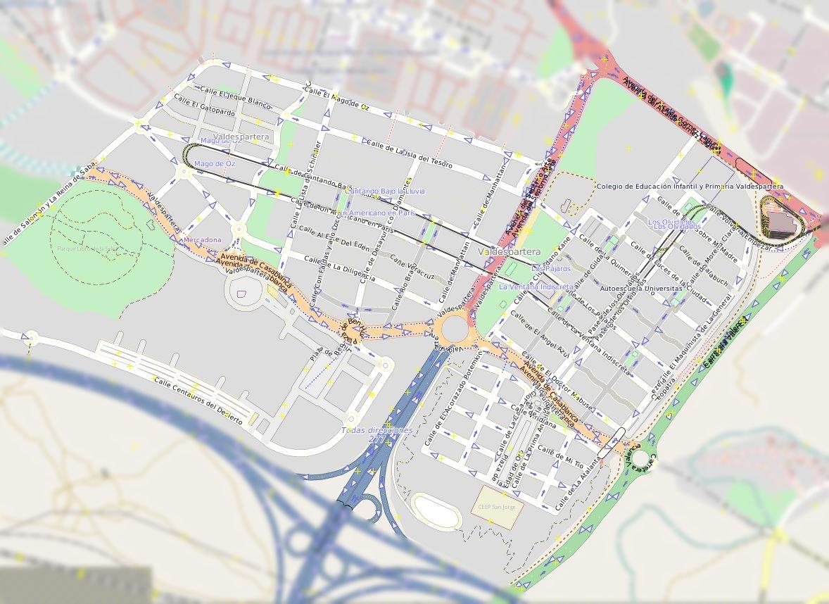 Parque Pignatelli Zaragoza Mapa.Valdespartera Wikipedia La Enciclopedia Libre