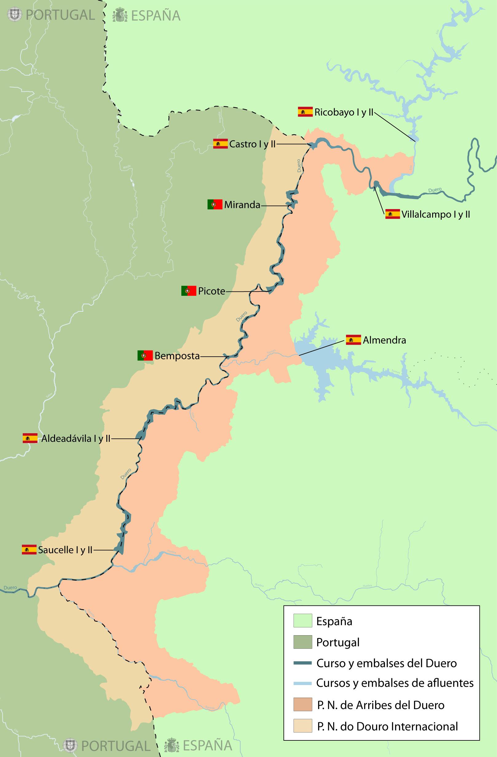 Saltos Del Duero Wikipedia La Enciclopedia Libre