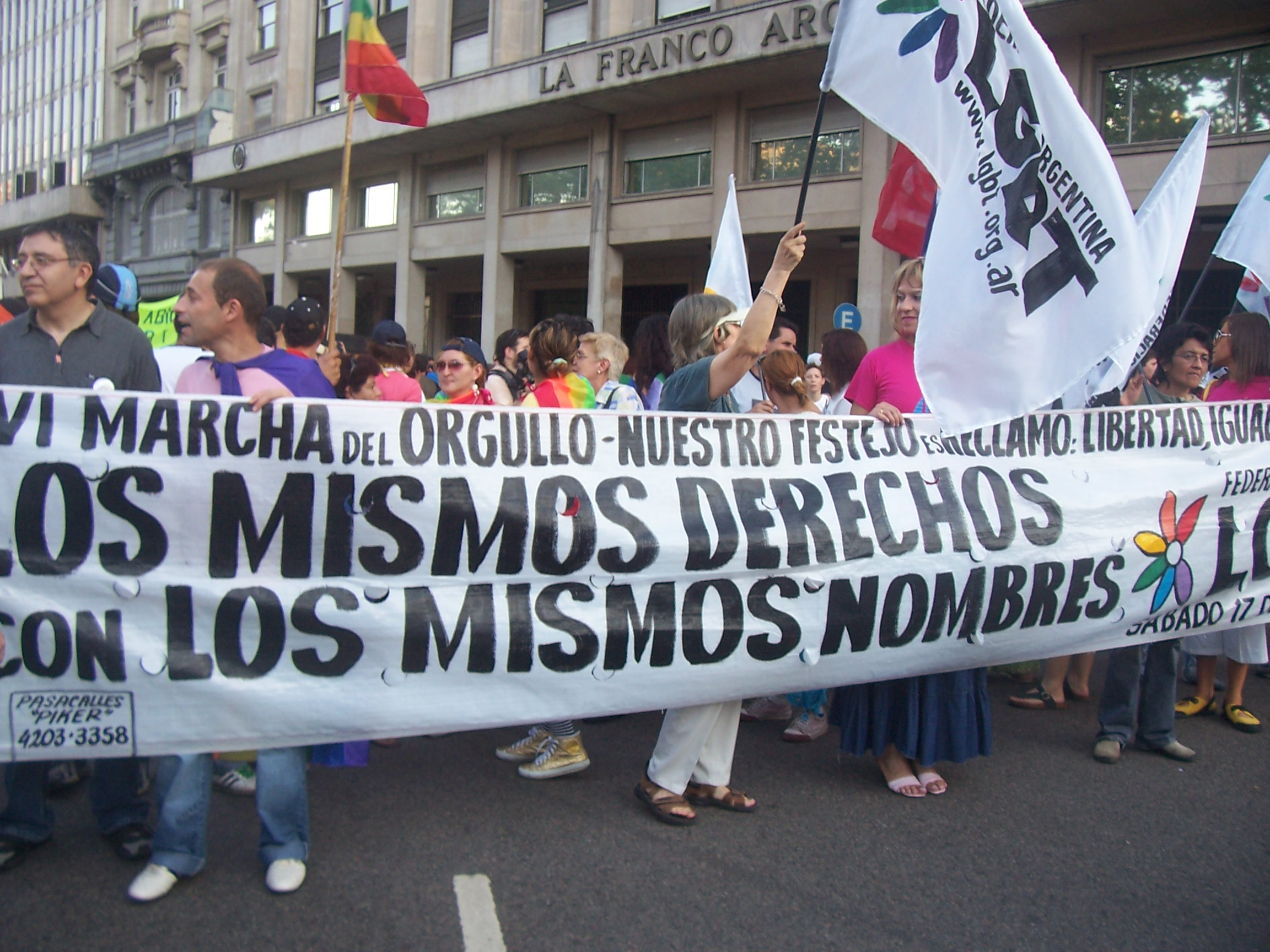 Marcha Del Orgullo Lgbt De Buenos Aires Wikipedia La