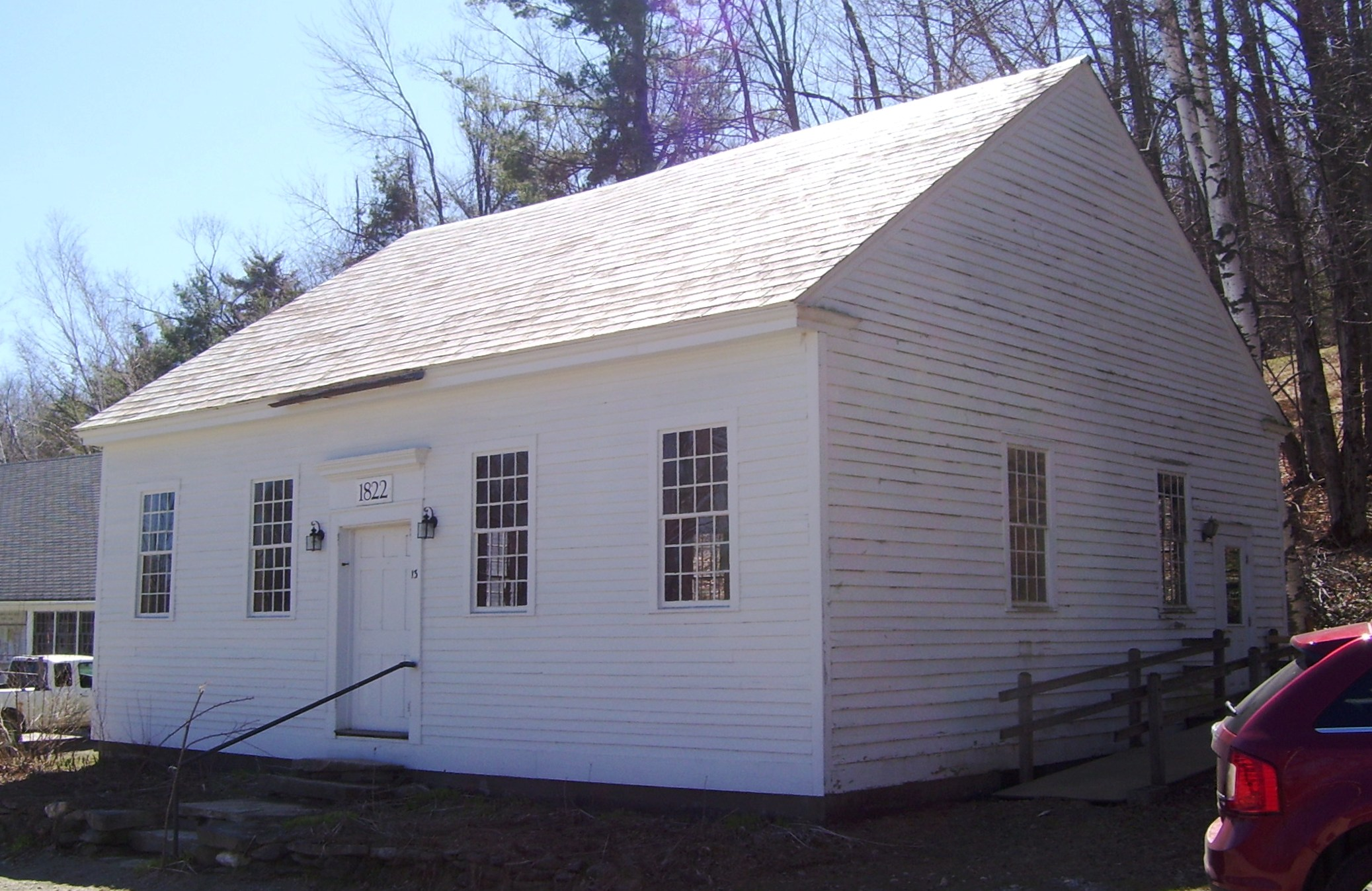 Quaker Meeting Houses In The United States
