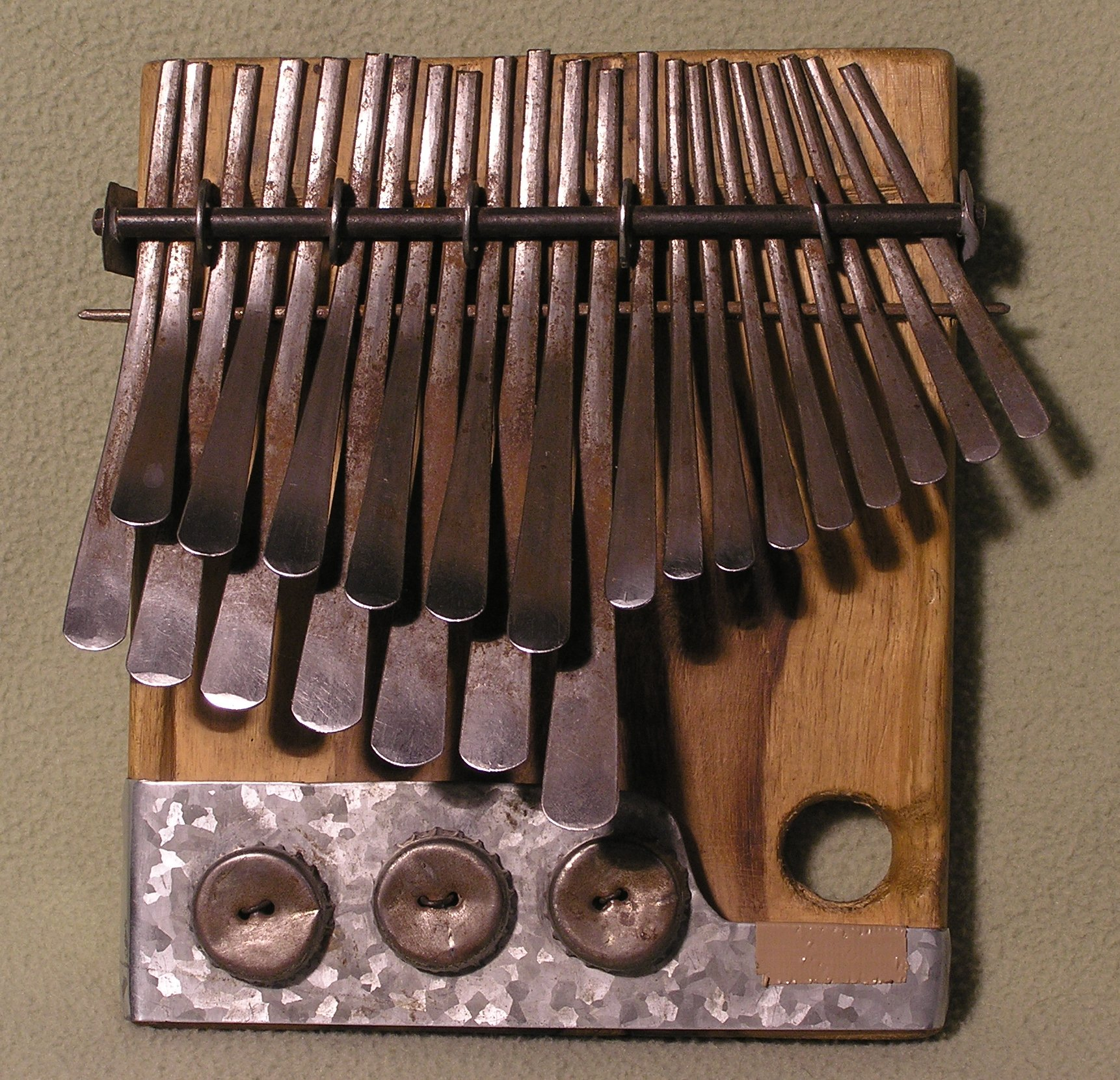 african thumb piano music how'll