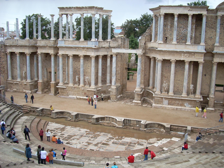 Boda Teatro Romano Merida : File merida teatro romano g wikimedia commons