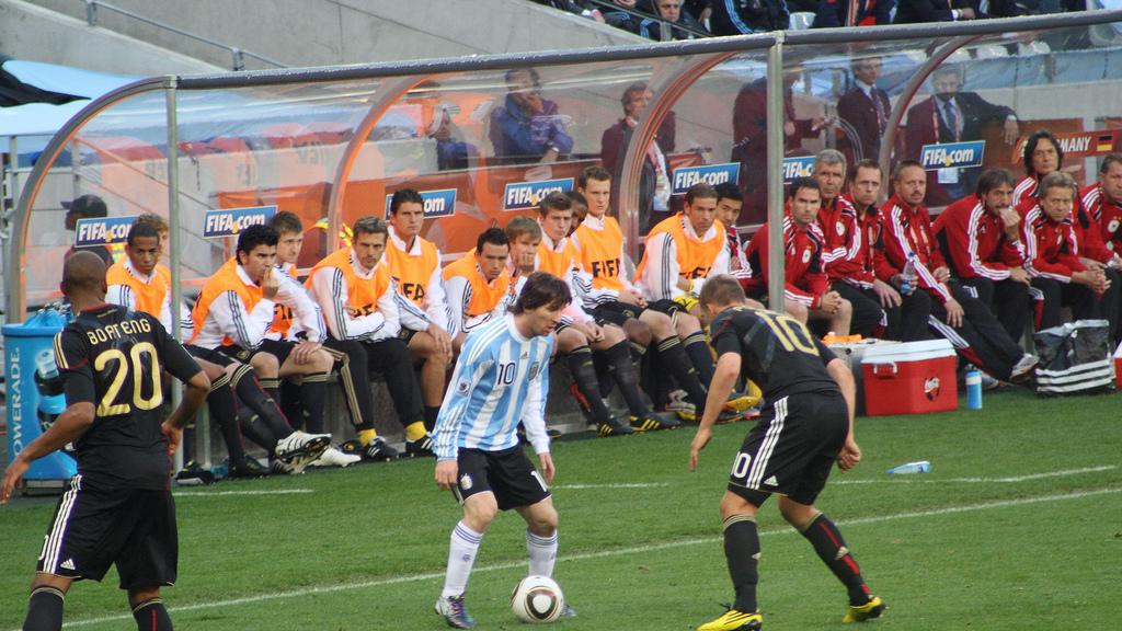 File Messi Podolski Boateng Bench Wikimedia Commons