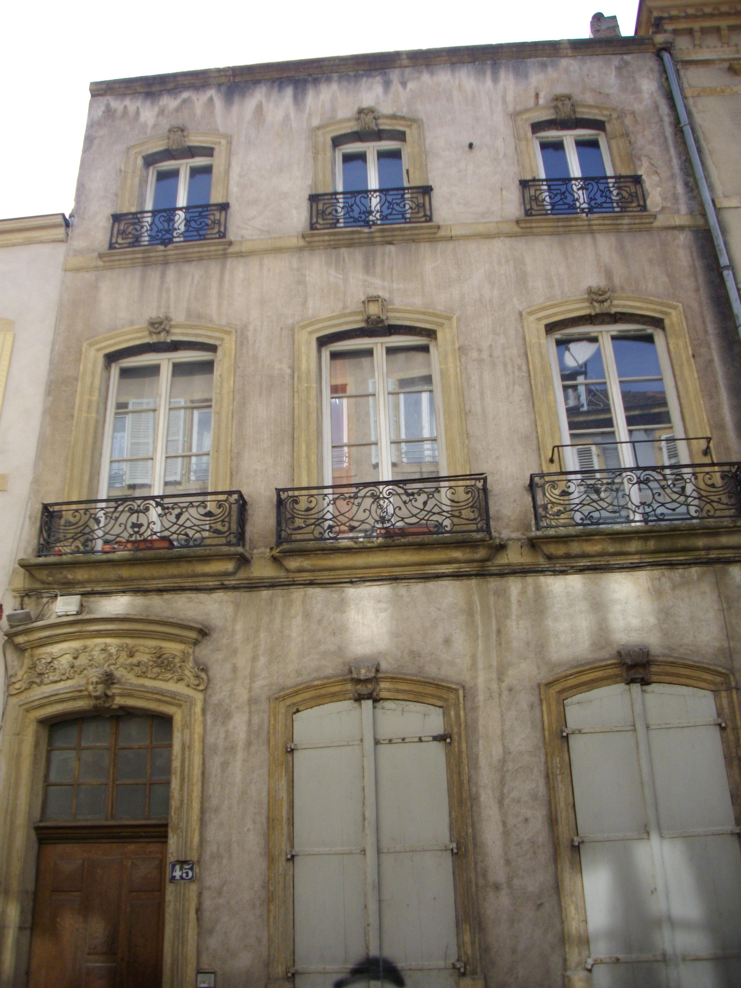 fichier:metz - 45, rue vigne-saint-avold — wikipédia