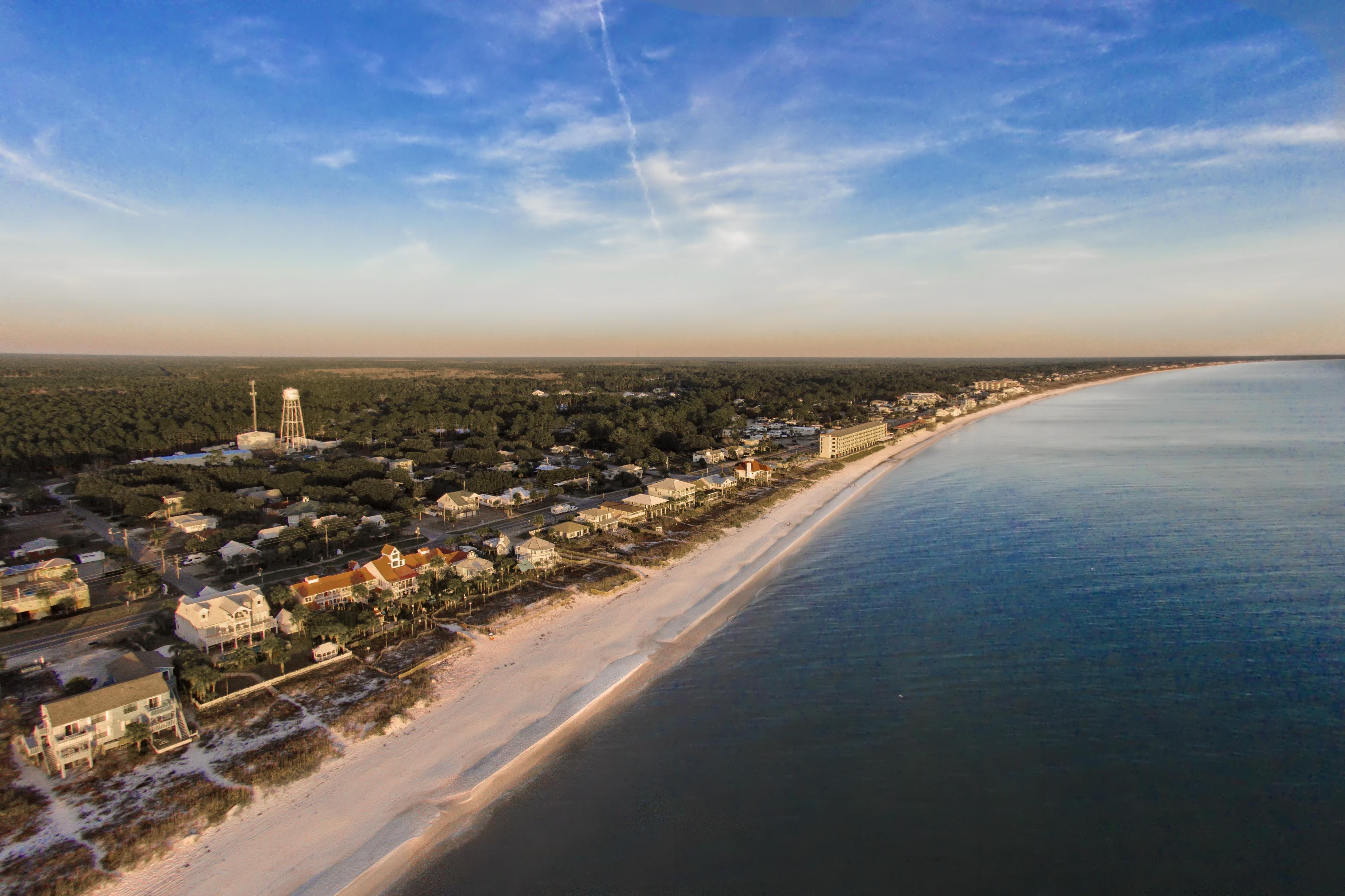 Tucked Along Florida's Forgotten Coast, Is The Small Beach