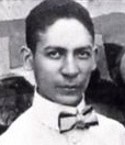 Jelly Roll Morton, an early pioneer of jazz music.
