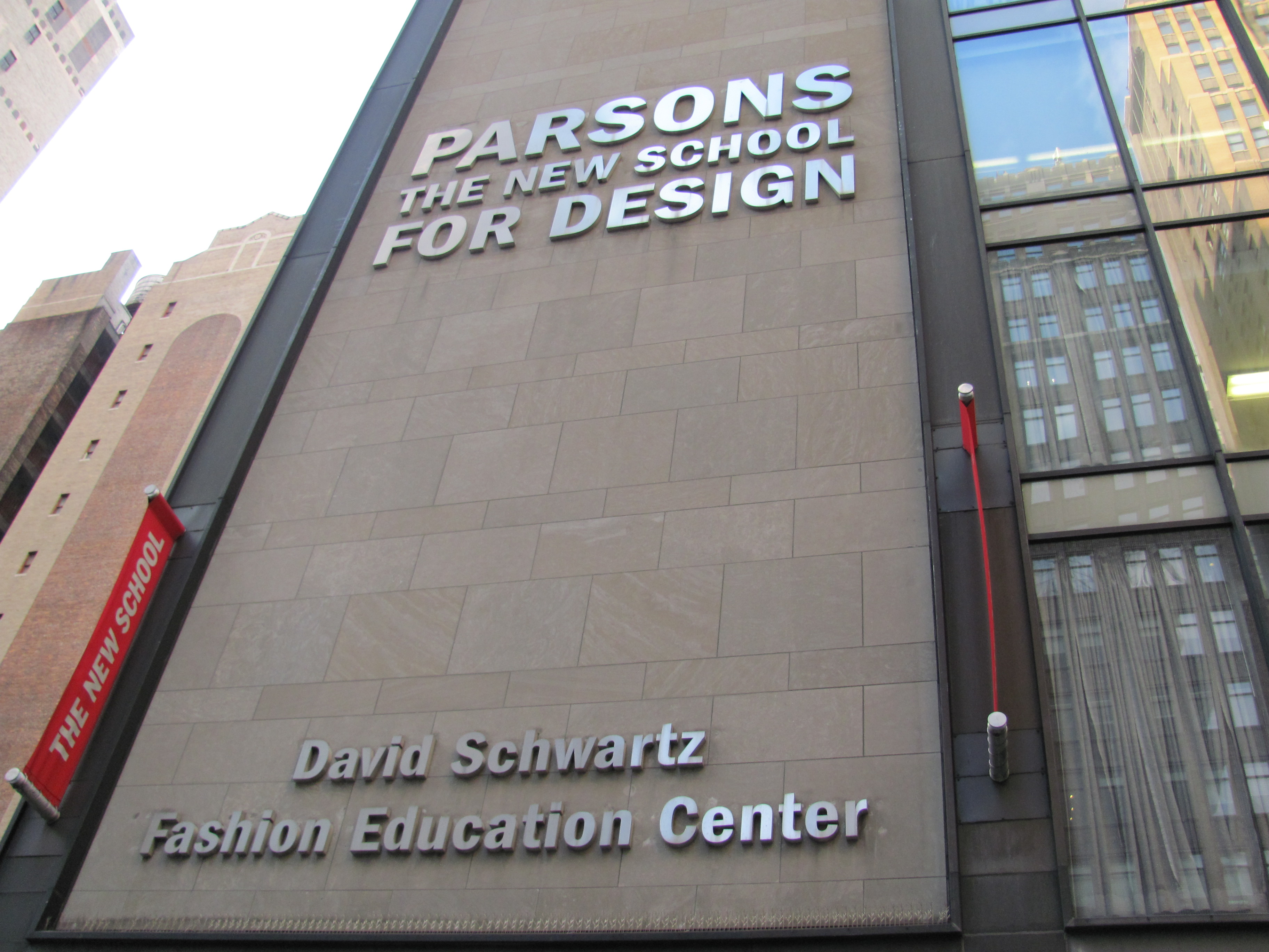 Depiction of Parsons The New School for Design