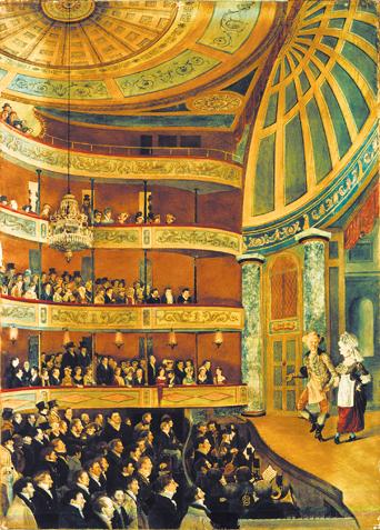 New York Park Theatre 1822