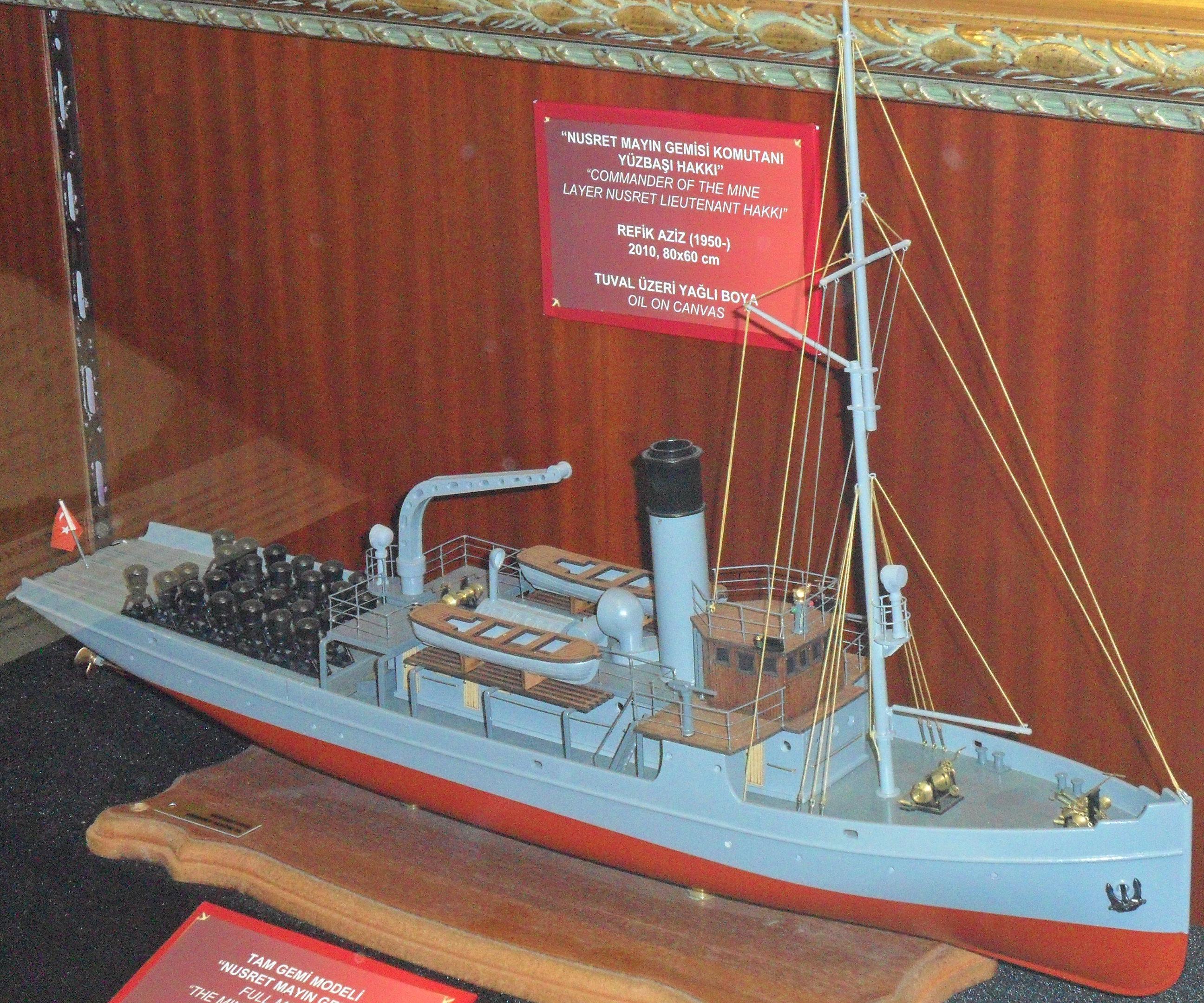 Dosyanusret Mayın Gemisi Tam Modelijpg Vikipedi