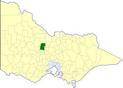 Rural City of Marong Local government area in Victoria, Australia