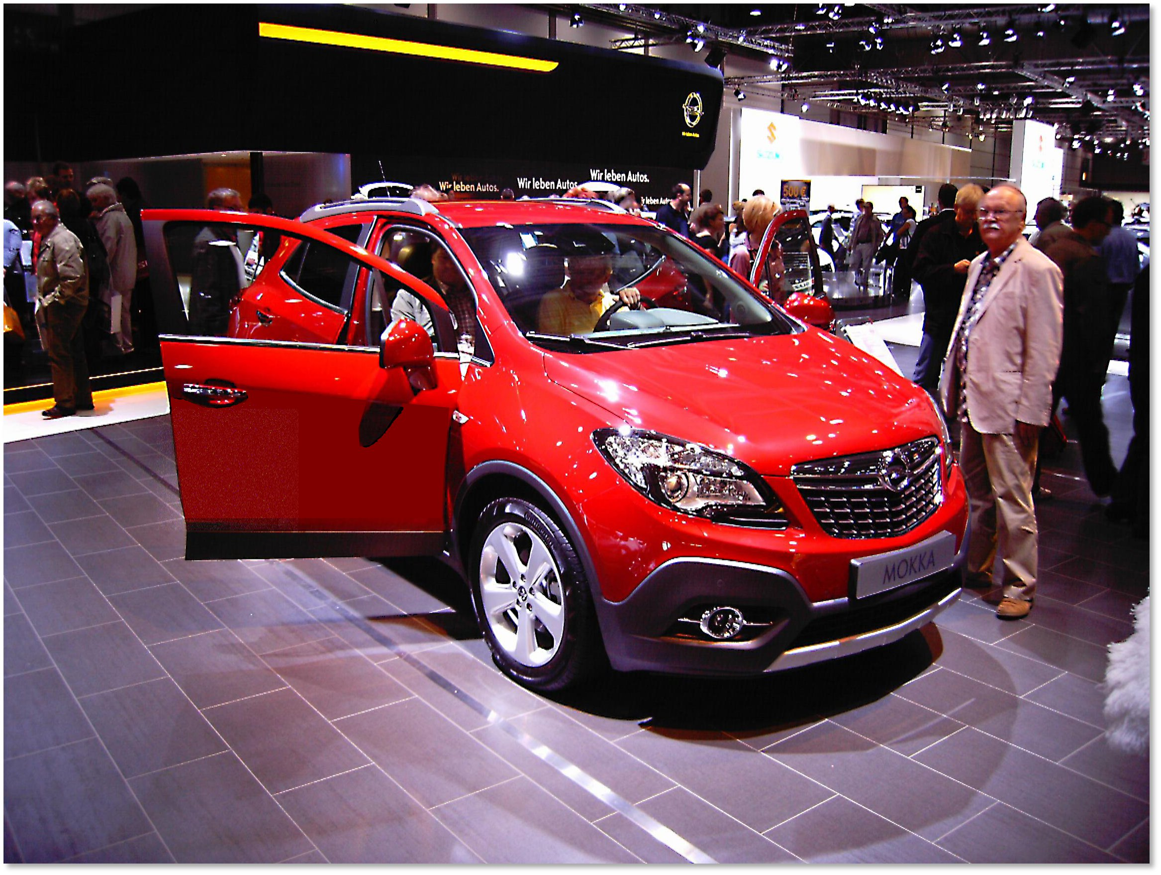 Illustration : OPEL - MOKKA 1.7 CDTI 130 EDITION