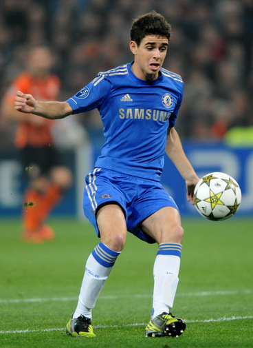 The latest star to ply his trade for a Chinese team, Oscar. Credit: Wikimedia Commons, CC BY SA 3.0