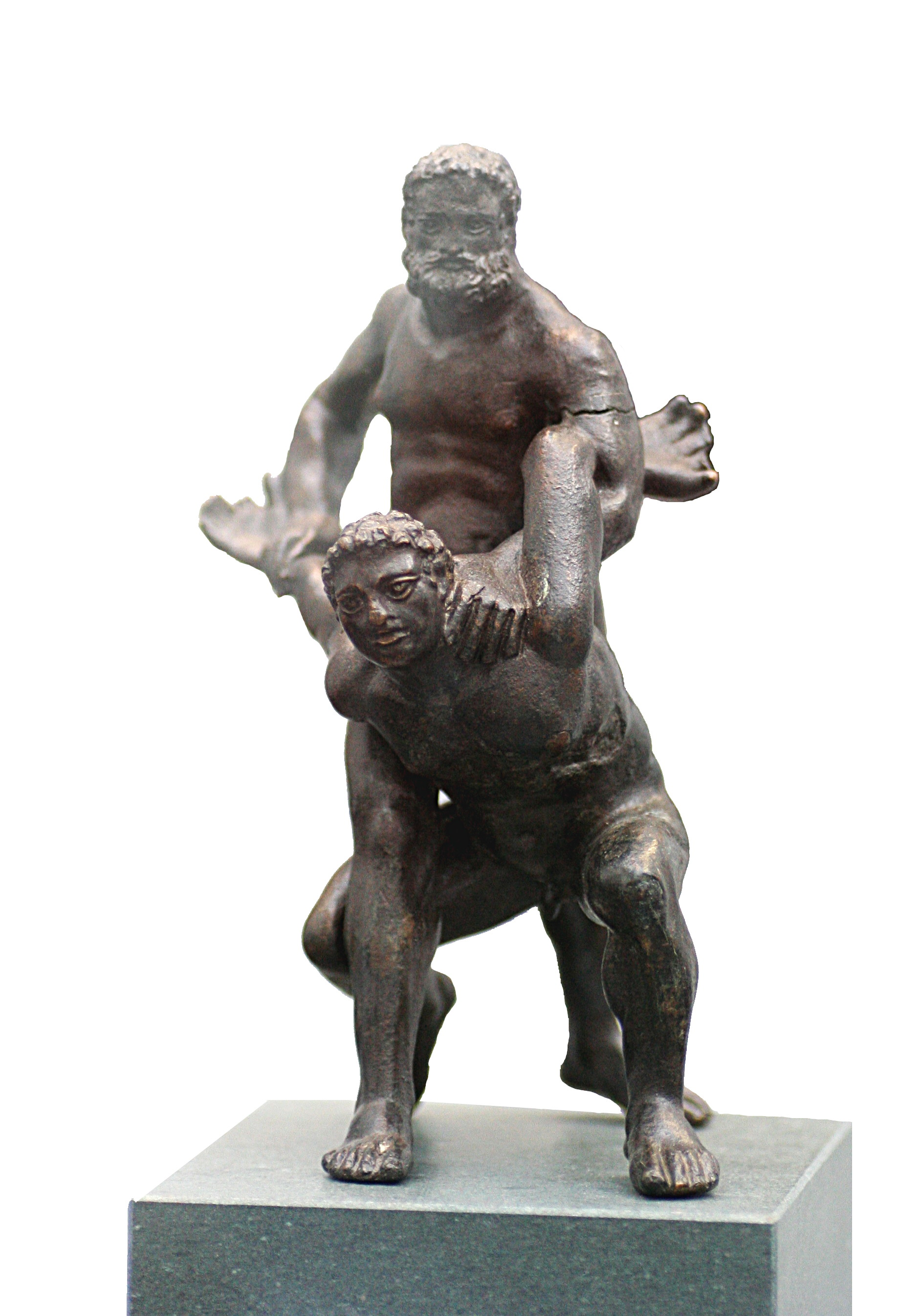 Pankration statue