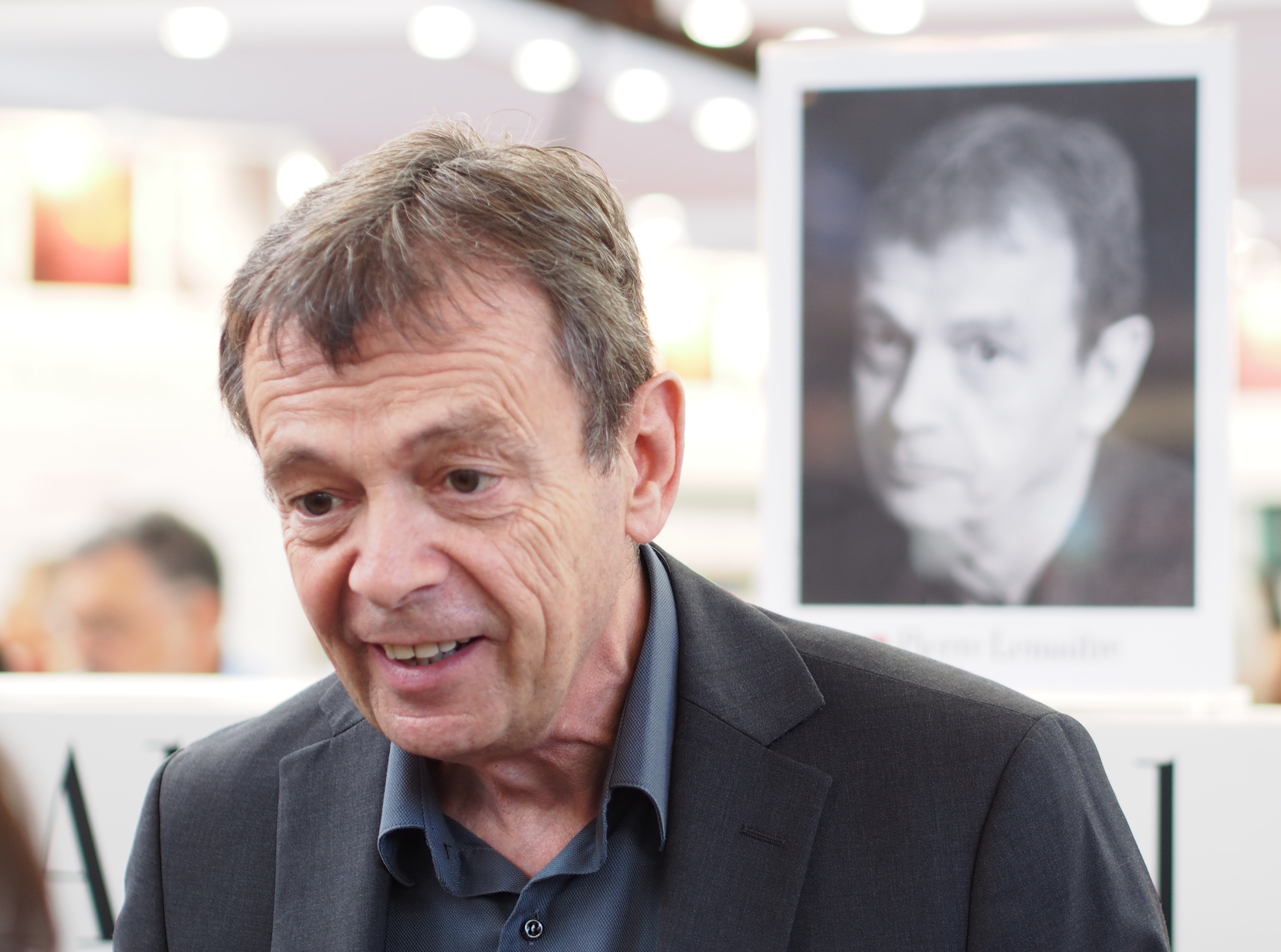 Pierre Lemaitre - Paris Book Fair - 23 March 2014
