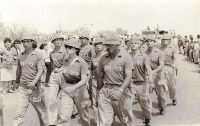 קבוצת ניר-עם בצעדת ירושלים