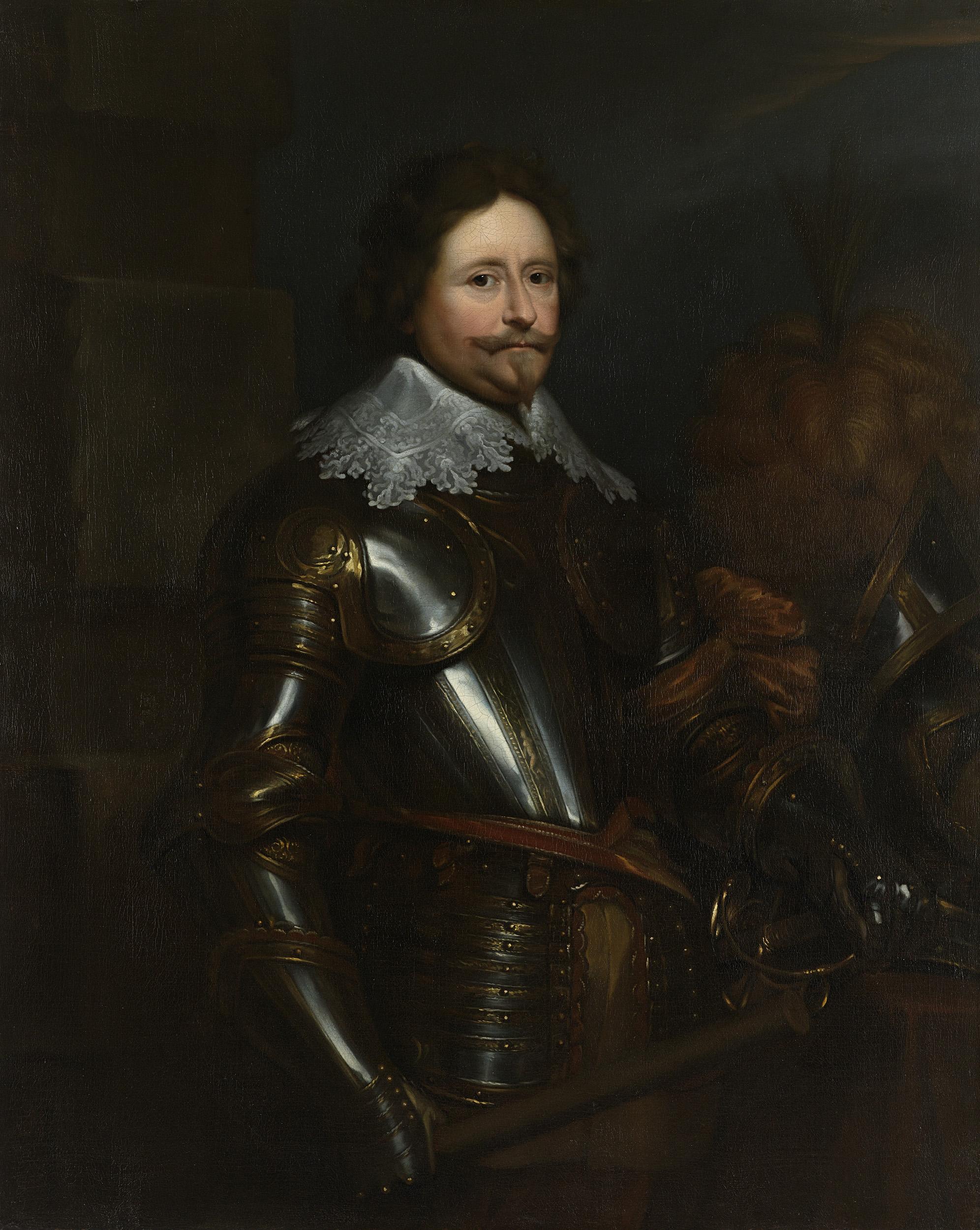 Fileportret Van Frederik Hendrik 1584 1647 Prins Van