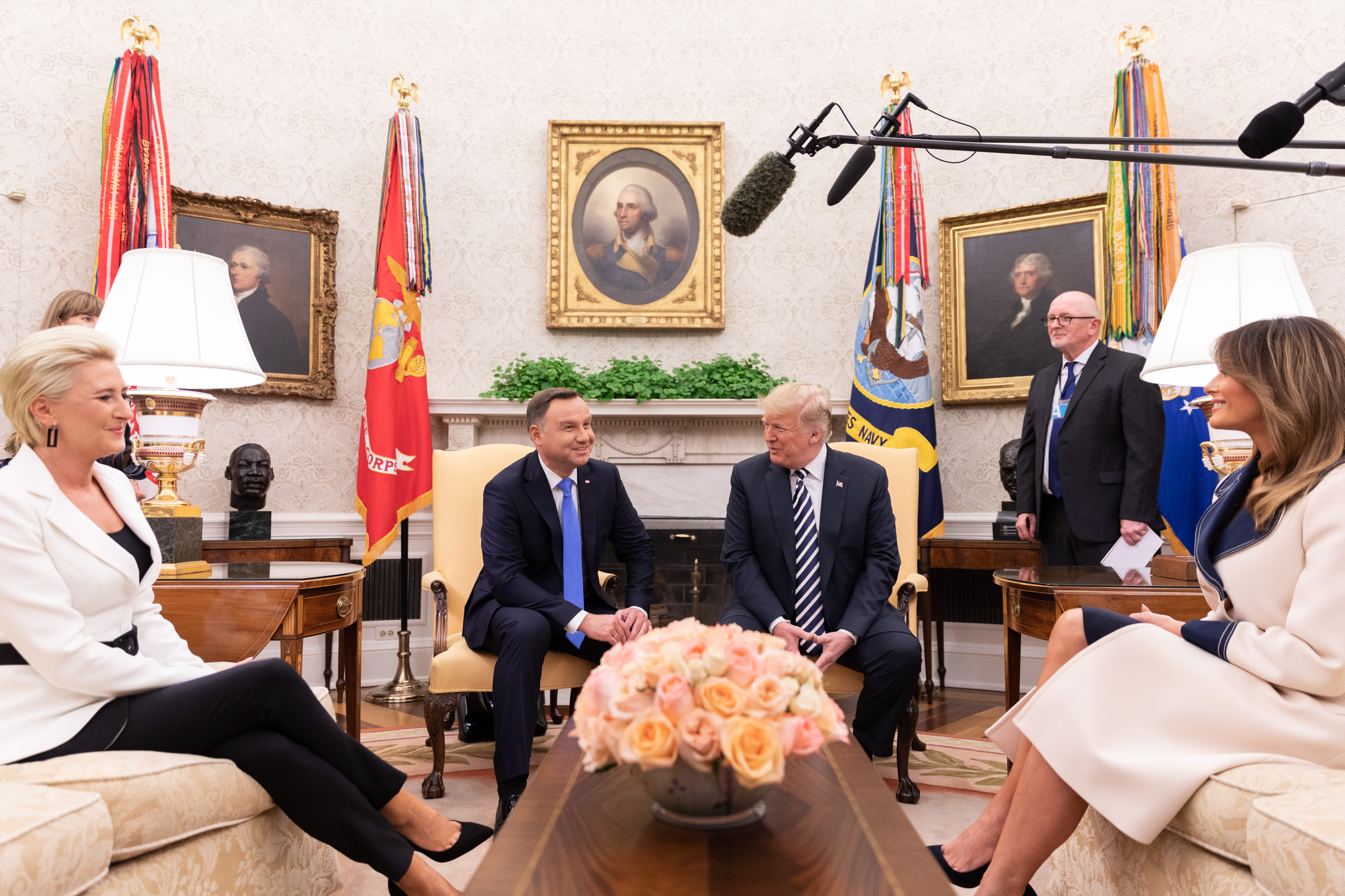 Image result for andrzej duda trump