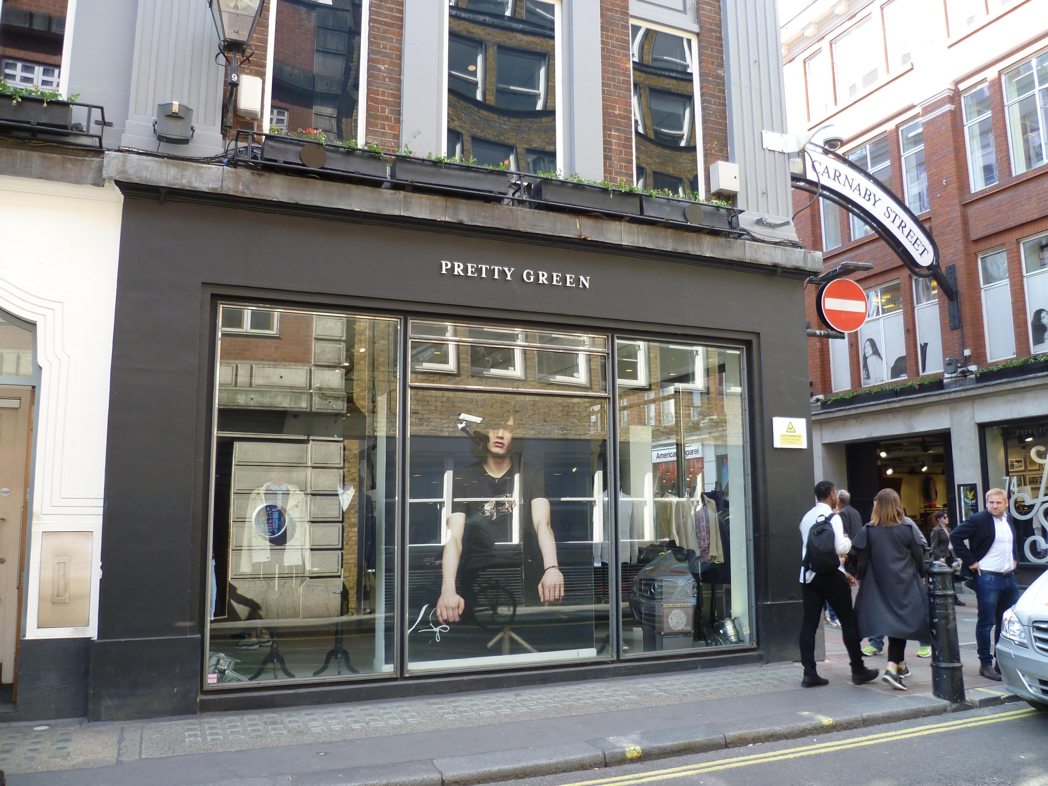 File Pretty Green shop near Carnaby Street, London.JPG - Wikimedia ... 8be1b13af75