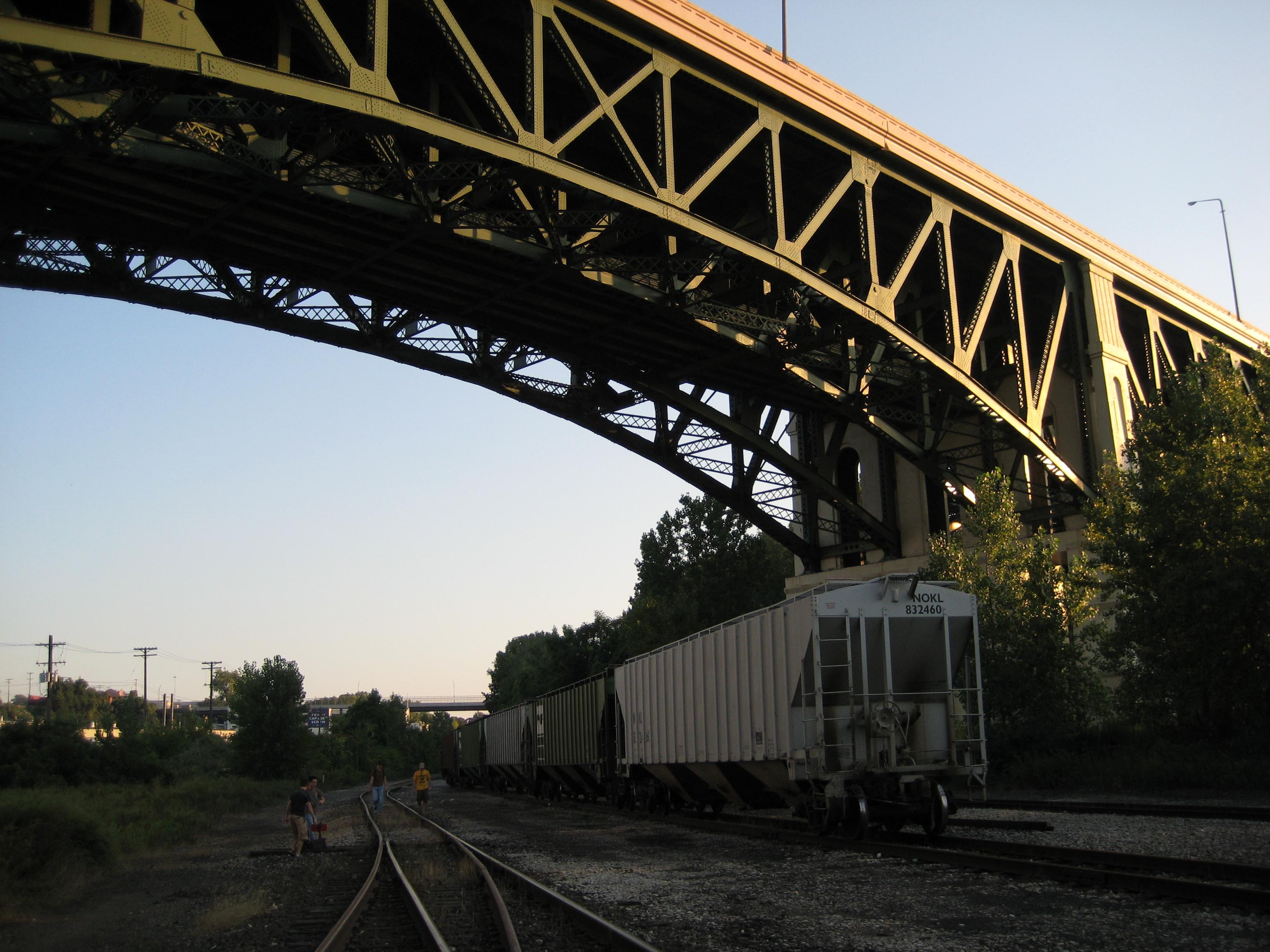 Filerail Under The Bridge Jpg