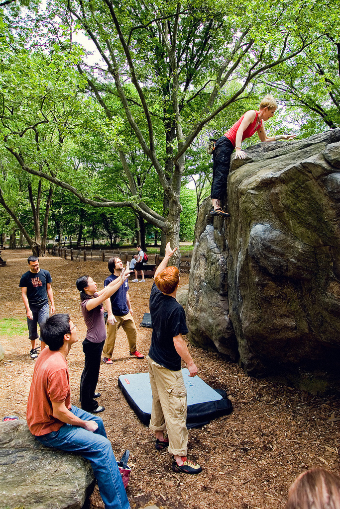 bouldering an avoided accident during rock climbing 50 common climbing mistakes (and how to avoid them down in sport climbing, and loose rock is always a rope could unclip itself from a carabiner during a.