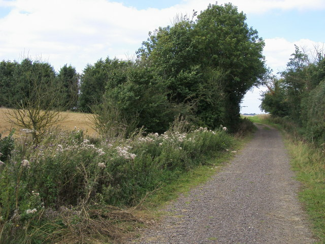 Restricted Byway - geograph.org.uk - 1552791