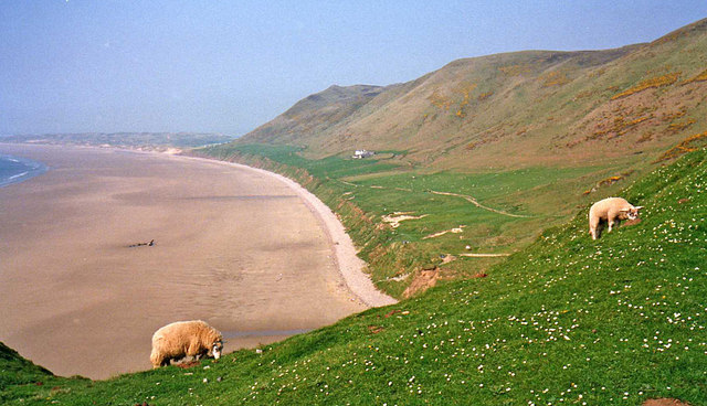 Rhossili Bay - geograph.org.uk - 1379938