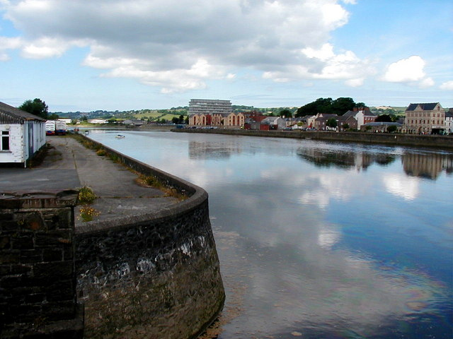 River Taw, Barnstaple - geograph.org.uk - 218223