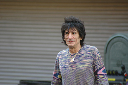 Ron Wood - Guitar Player - The Rolling Stones....