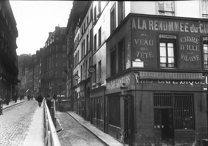 Fichier:Rue de la Montagne-Sainte-Geneviève, Paris, 1913.jpg
