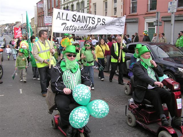 Saint Patrick's Day Parade, Omagh - (64) - geograph.org.uk - 1208845
