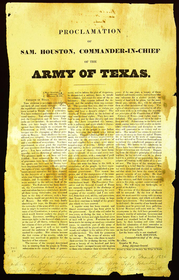 Texian Army - Wikipedia