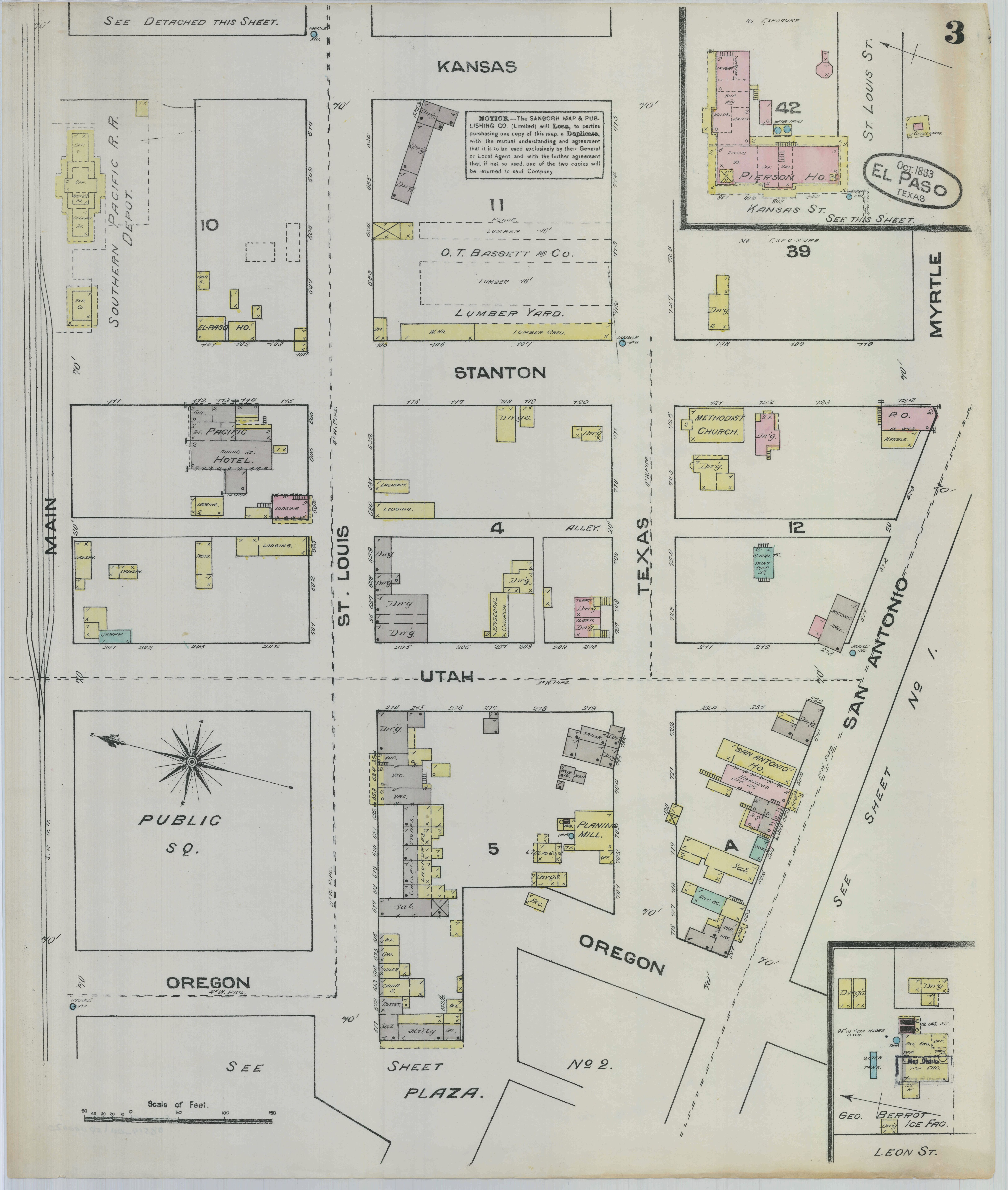 File:Sanborn Fire Insurance Map from El Paso, El Paso County, Texas ...