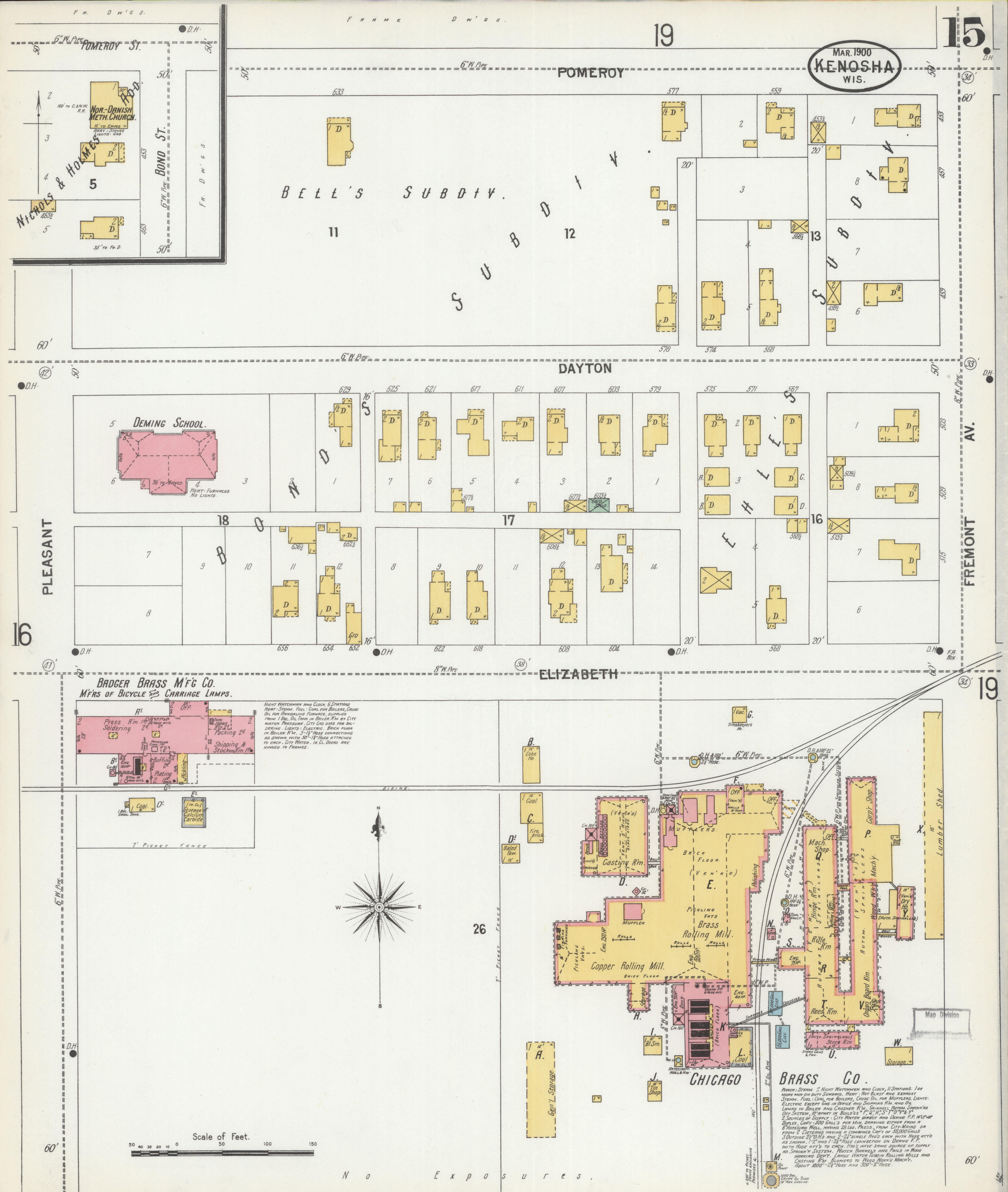 File:Sanborn Fire Insurance Map from Kenosha, Kenosha County ... on st francis map, door map, grand chute map, norman map, sheboygan map, woodstock map, fennimore map, prairie crossing map, superior map, fond du lac zip code map, racine wisconsin map, oconomowoc map, waukesha map, schererville map, lafayette map, greensboro map, city of racine map, wilmot map, wausau map, peoria map,