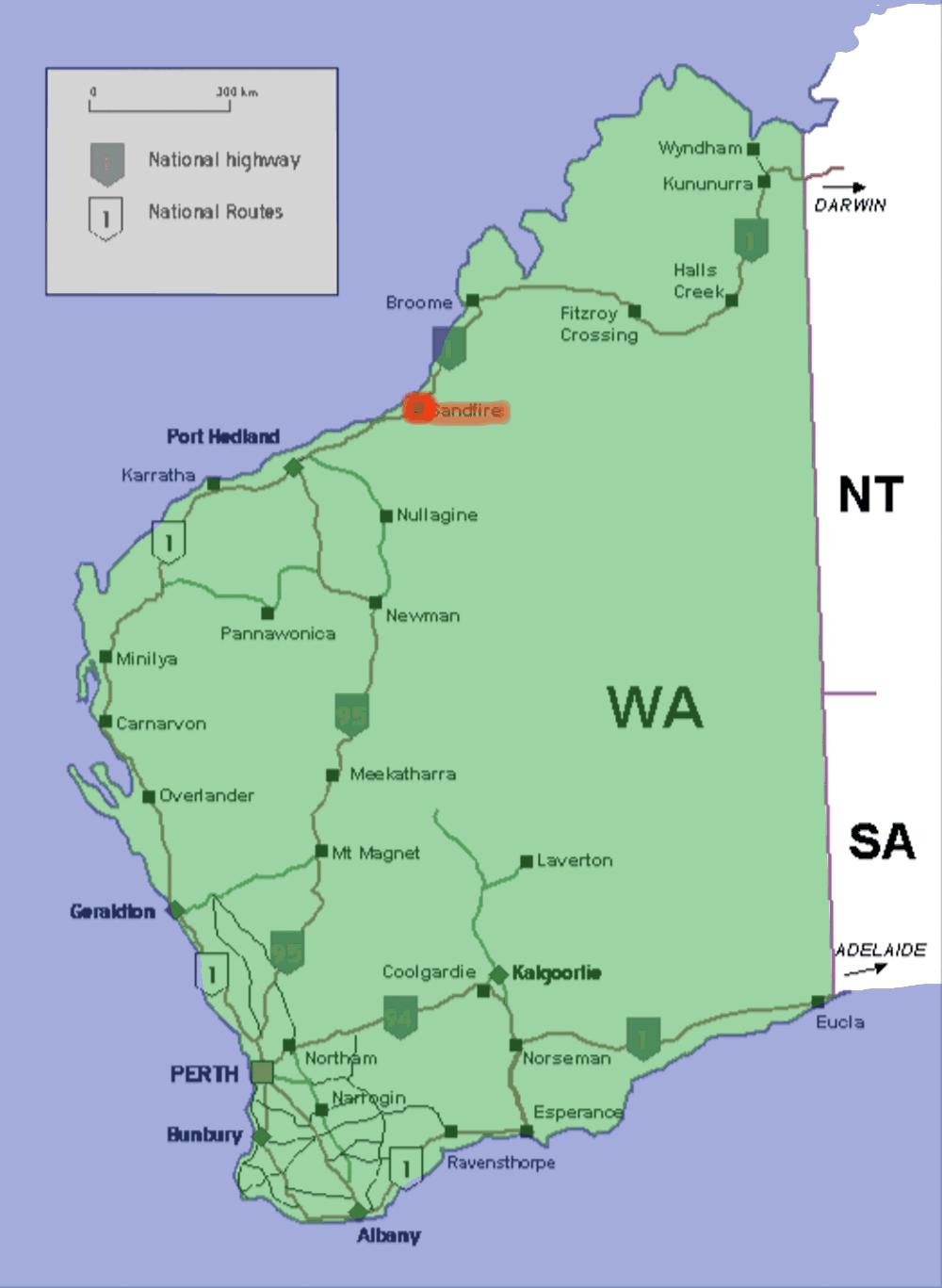 Sandfire Western Australia Wikipedia