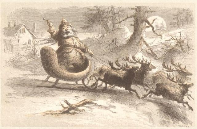 Nomi Renne Babbo Natale.Renne Di Babbo Natale Wikipedia
