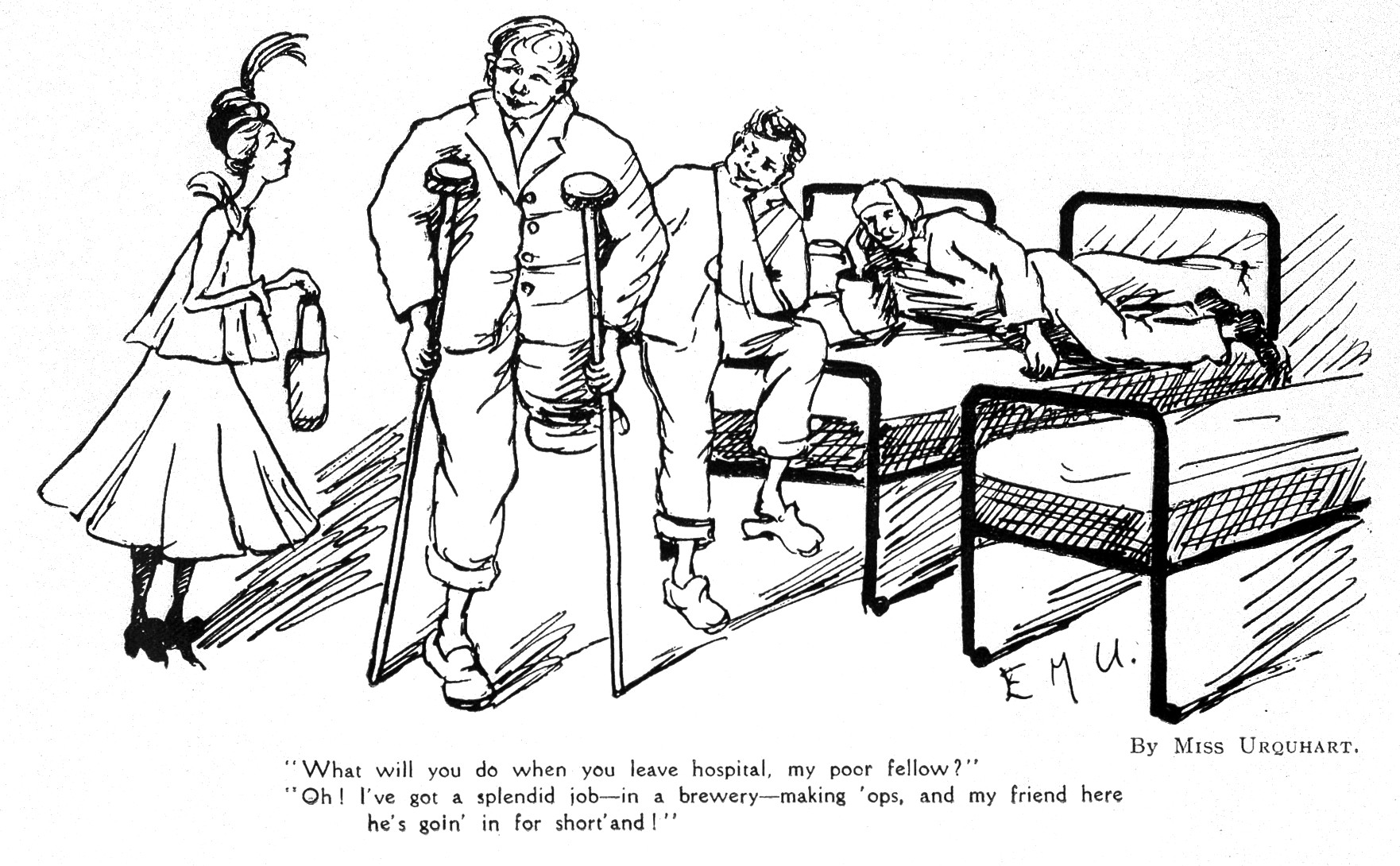 File Satire War Wounded Rehabilitation Wellcome L0023556 Jpg