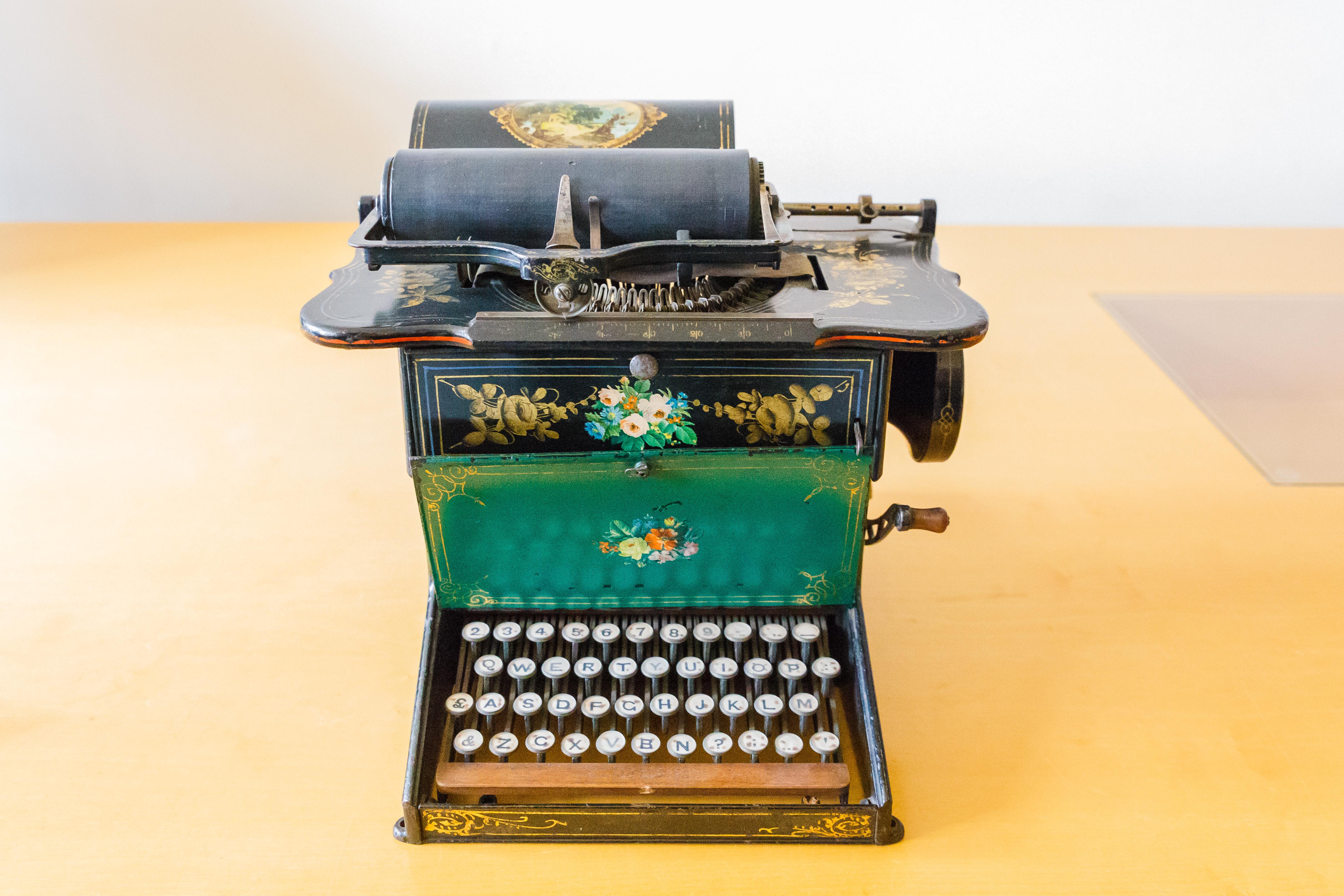 wann wurde die schreibmaschine erfunden ostseesuche com. Black Bedroom Furniture Sets. Home Design Ideas