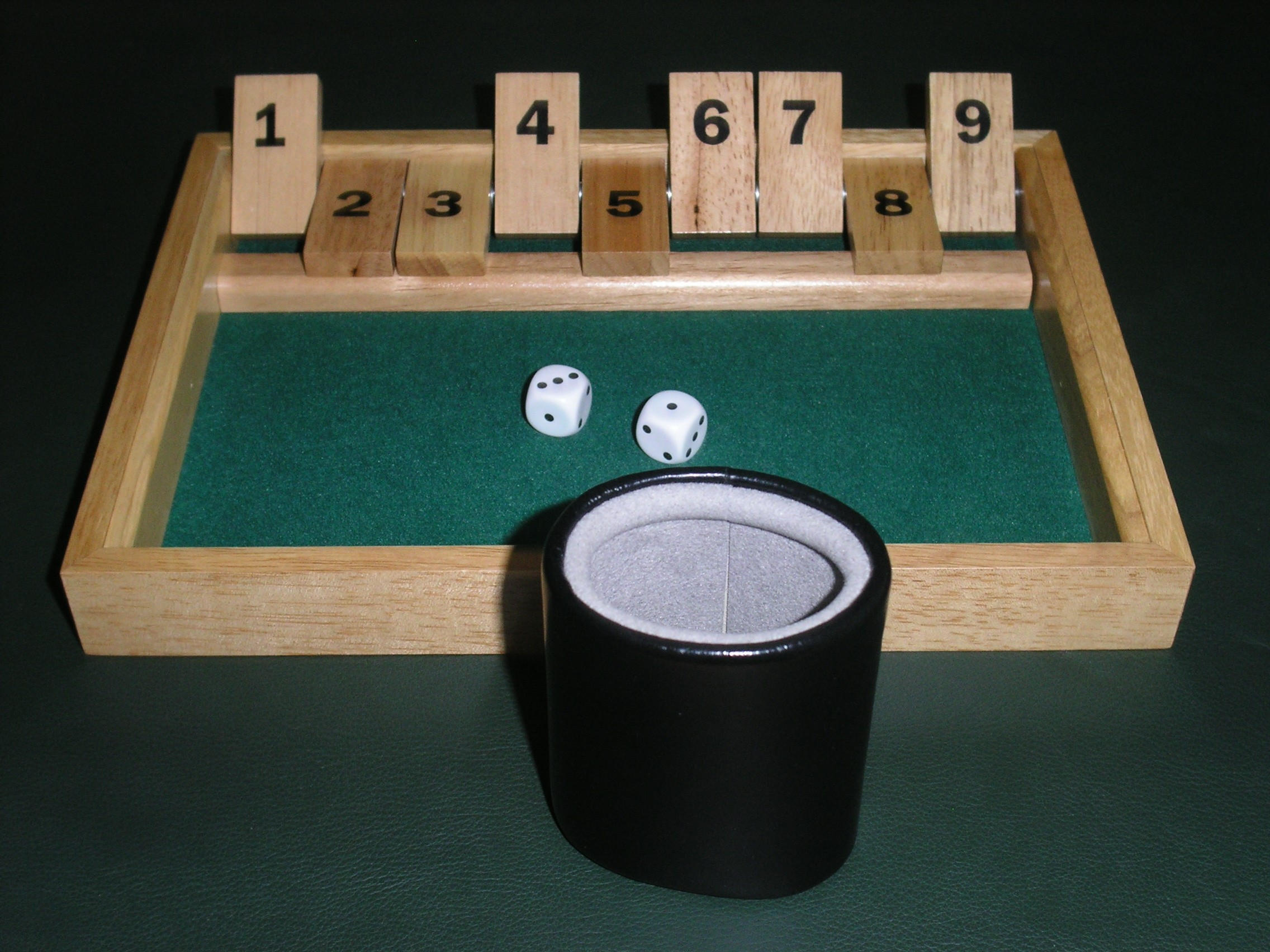 Shut the box game betting sports betting introduction