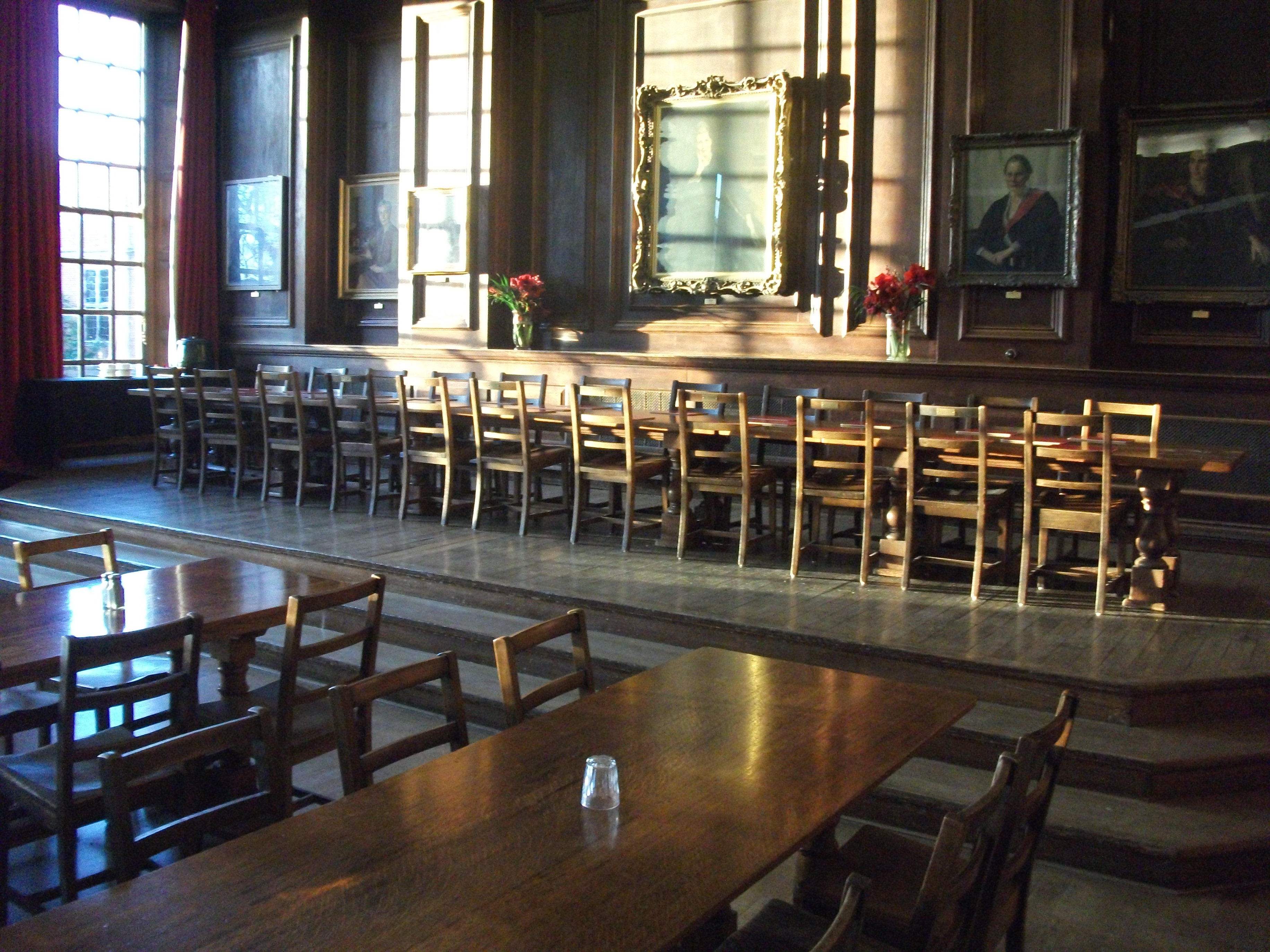 High Dining Room Table File Somerville College Oxford Hall Jpg Wikimedia Commons