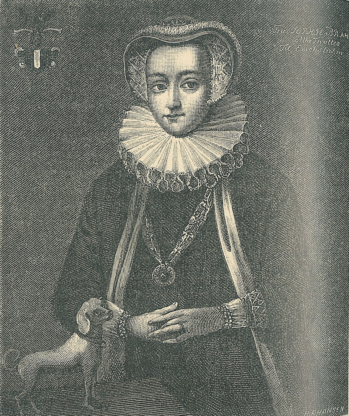 Sophie Brahe (1556 - 1643), astronome danoise - P. Hansens