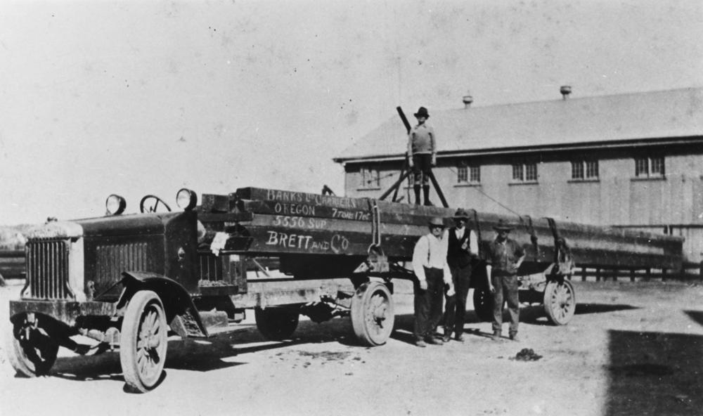 File:StateLibQld 1 83895 Truck loaded with timber at