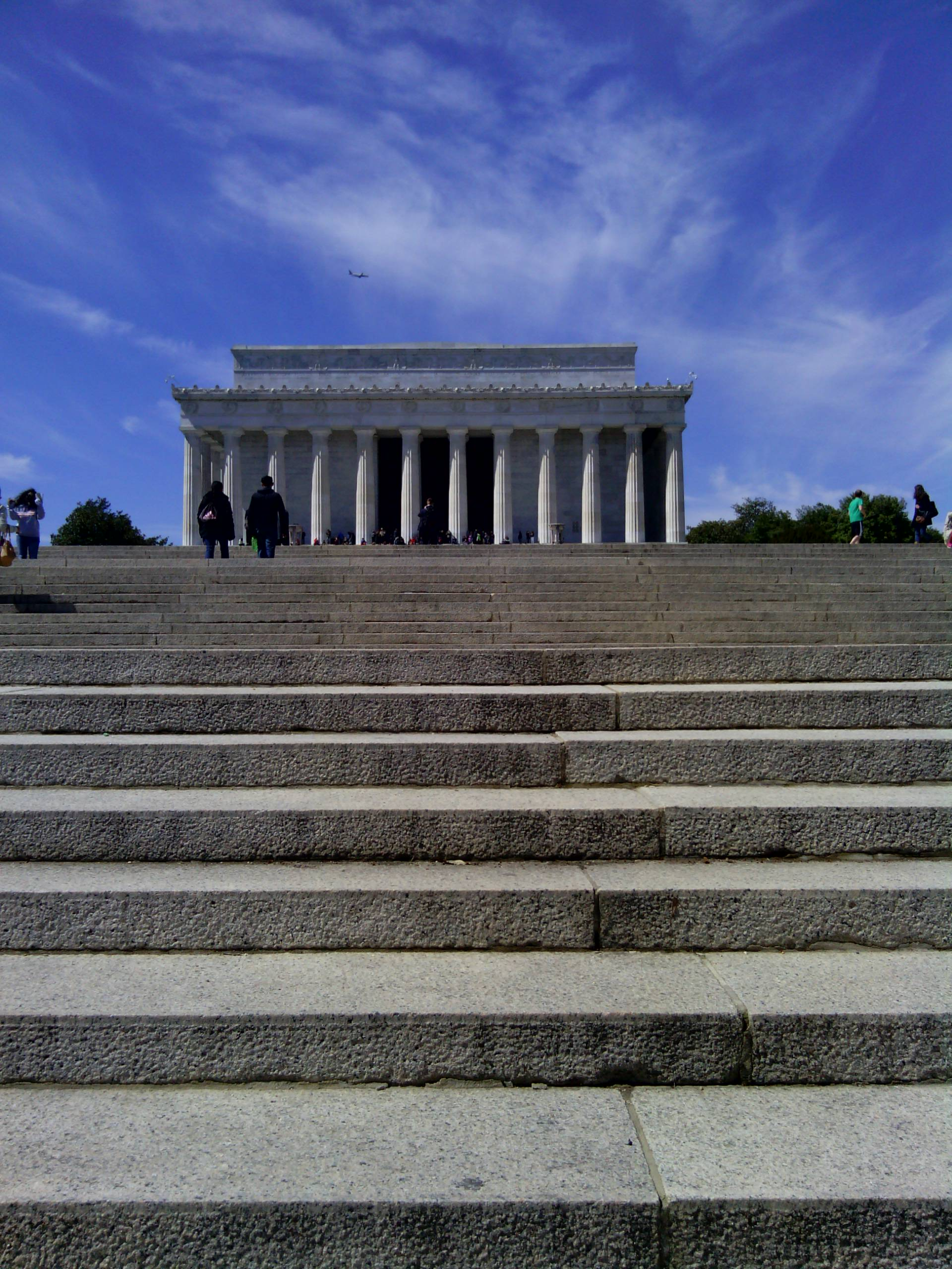 Image result for lincoln memorial steps