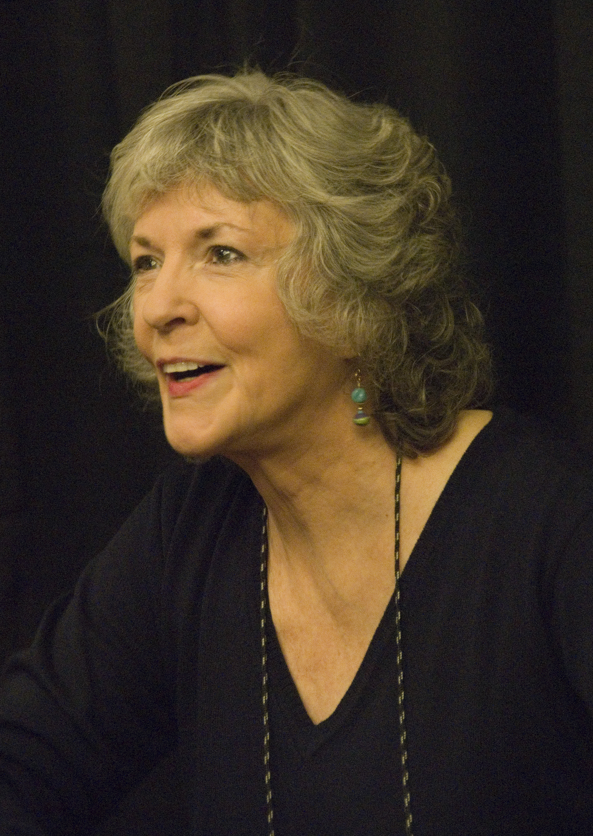 Sue Grafton at Bouchercon 2009 in Indianapolis...
