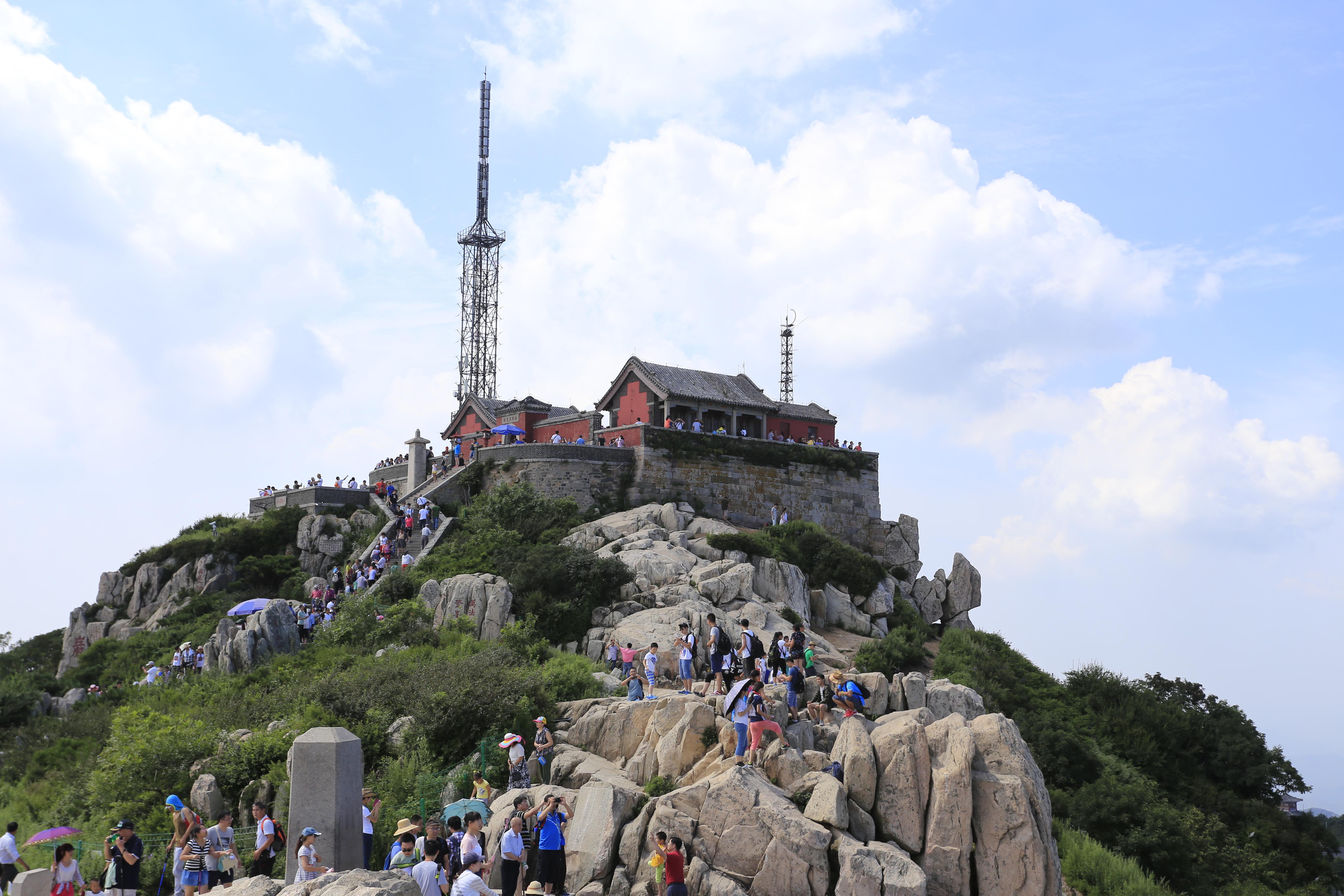 ''Jade Emperor Peak'', the summit of Mount Tai