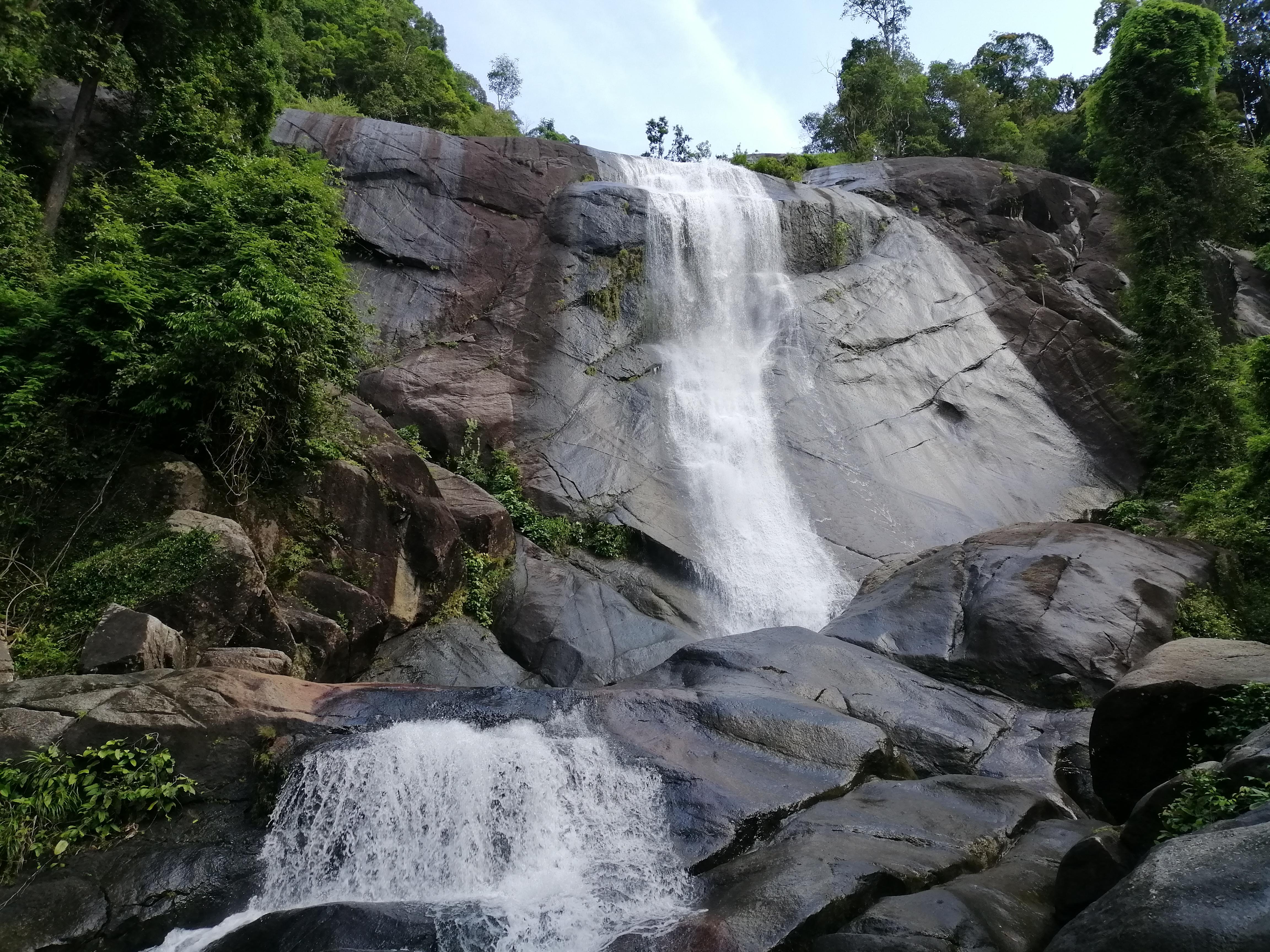 Telaga Tujuh Waterfalls - a popular tourist attraction in Langkawi