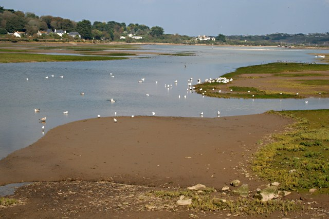 The Hayle Estuary - geograph.org.uk - 579594