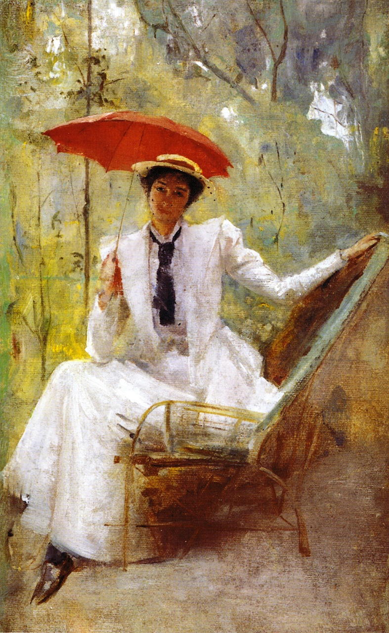 Victorian Painting Girl On Guy S Lap