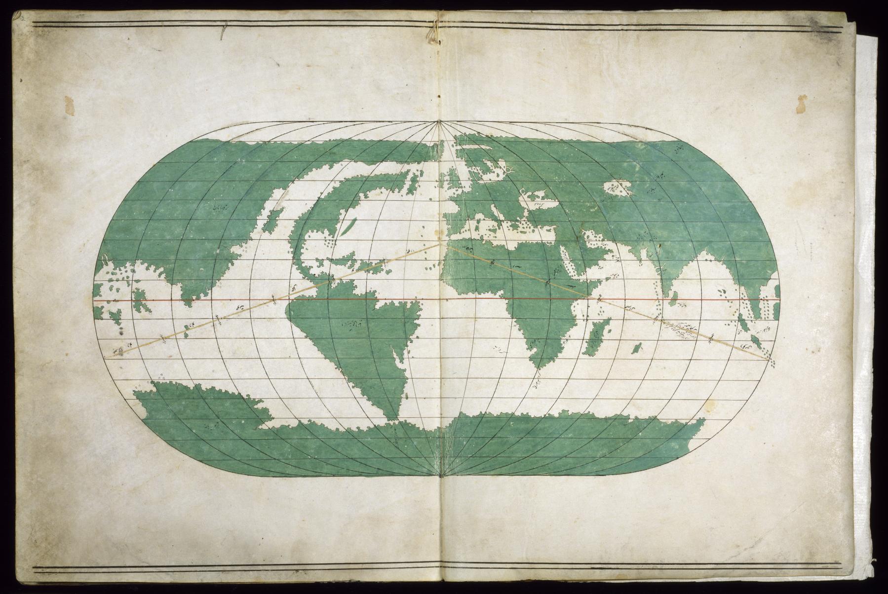 Mapa Mundi del Atlas Walters Sea