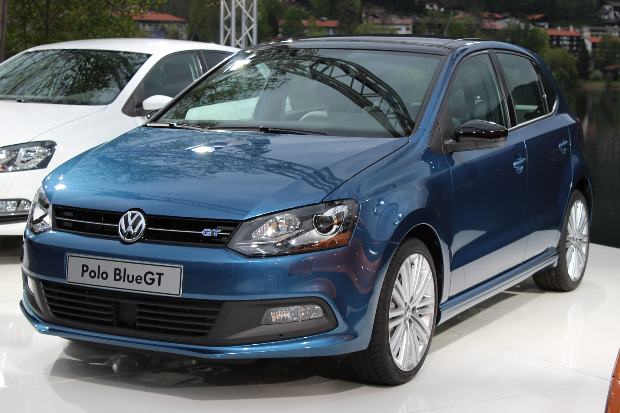file vw polo bluegt 2014 wikimedia commons. Black Bedroom Furniture Sets. Home Design Ideas